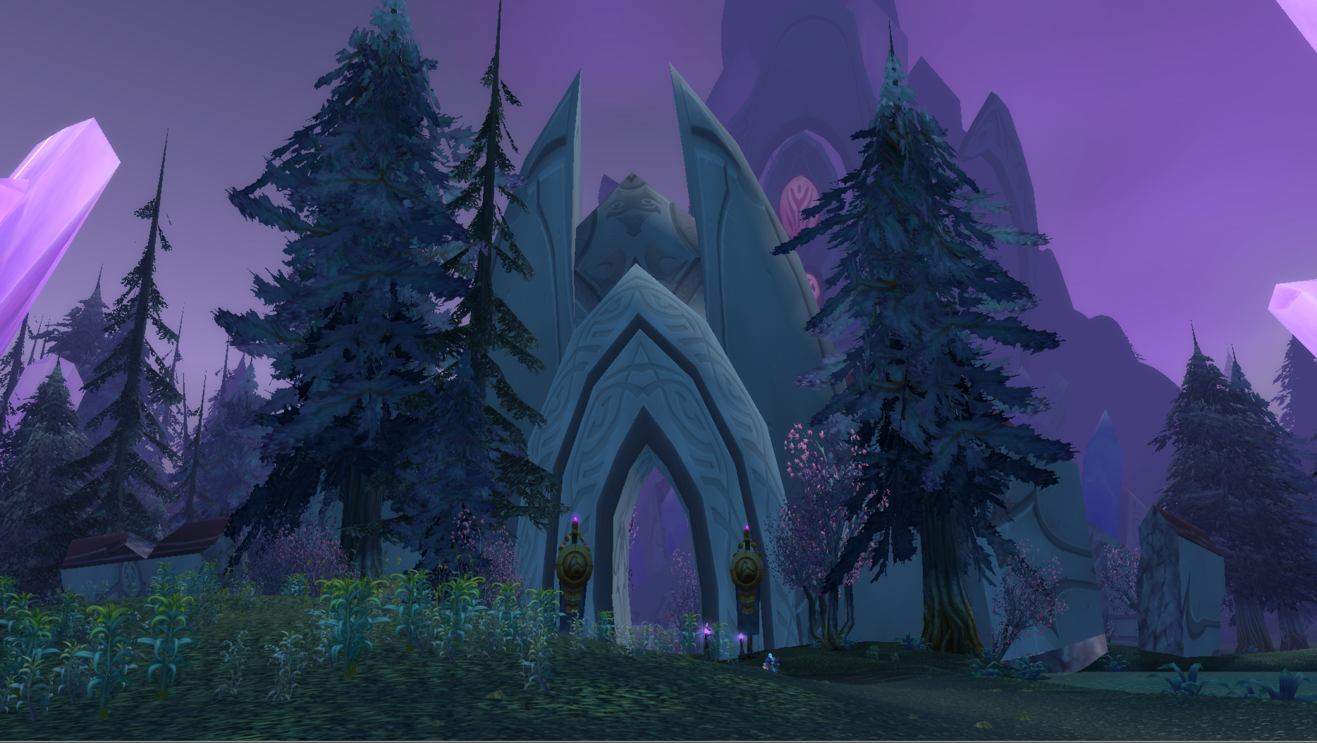 how to get to bloodmyst isle from the exodar